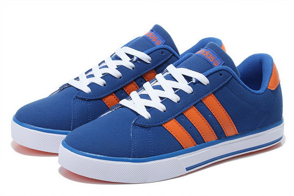 Adidas Neo Suede Mens & Womens (unisex) Light Blue Orange Low Cost